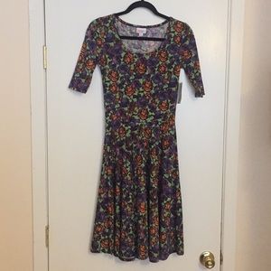 XS LuLaRoe Nicole Dress D05 834